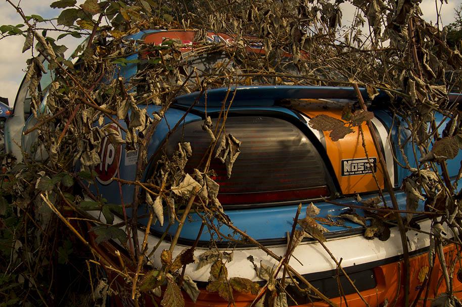 Foto opdracht autokerkhof Fotoacademie Caroline Vlietstra Content creator