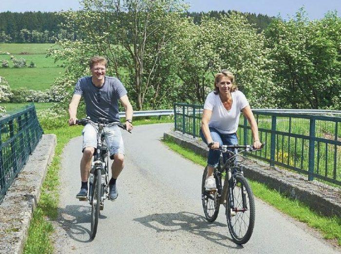 fietsen in Ardennen