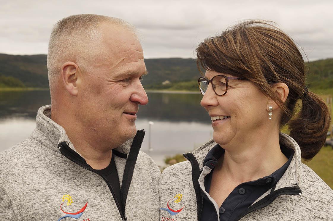 Raimo en Marjata Fins Lapland Voigt Travel