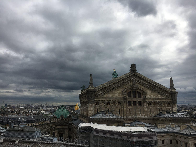 Parijs voor noodweer