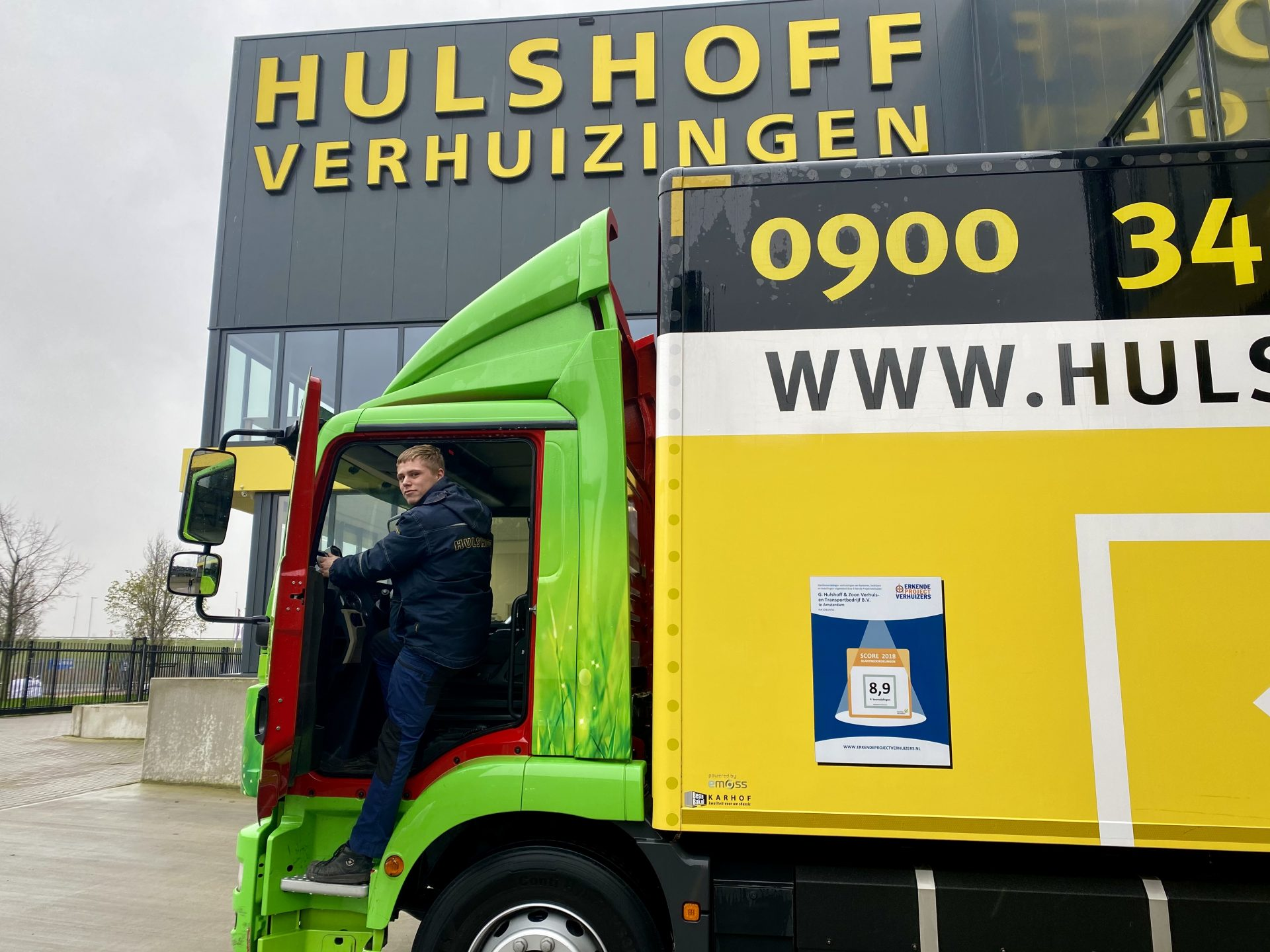 Hulshoff Transport- en verhuisbedrijf credit Caroline Vlietstra